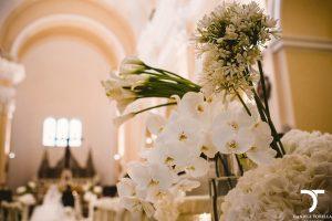 allestimento floreale a Pescara realizzato da Stylosofie floral designer Roma